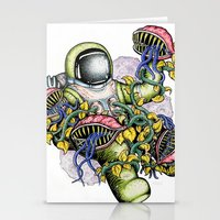 spaceman Stationery Cards featuring SPACEMAN by • PASXALY •
