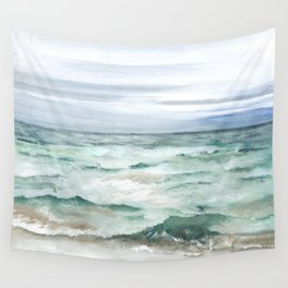 Oceanscape of Anna Maria Island Florida. Wall Tapestry