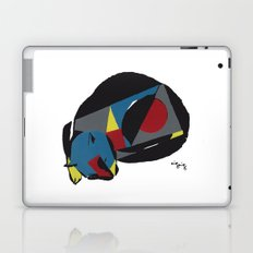 abstract sleeping cat (silkscreen) Laptop & iPad Skin
