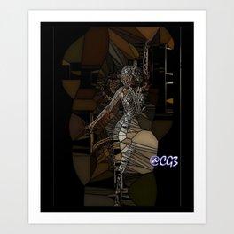 Looking for U  Art Print