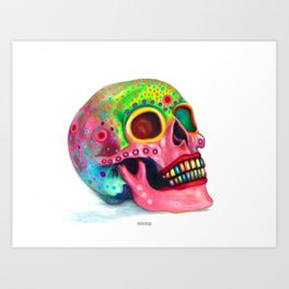 Party In My Mind Art Print