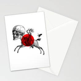 Love is a mad horse Stationery Cards