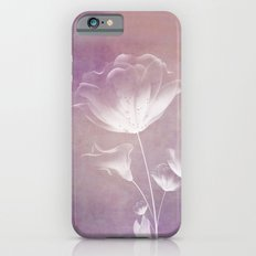 SATIN FLORAL Slim Case iPhone 6