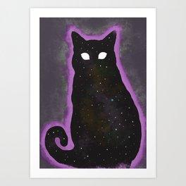 Xar - Chaser of Lights, Destroyer of Worlds Art Print