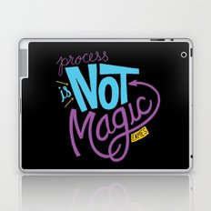 Process is Not Magic  Laptop & iPad Skin