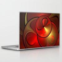 shining Laptop & iPad Skins featuring Shining Fractal by gabiw Art