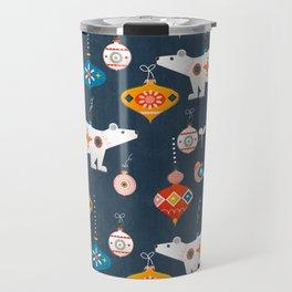 Christmas Retro decorations no2 Travel Mug