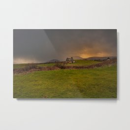 West Cork Caha Mountains Ireland Metal Print