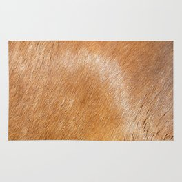 Horse Hide rustic decor Rug