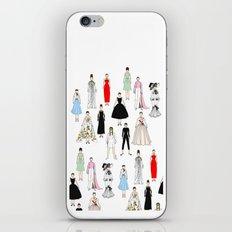 Audrey Fashion Whimsical Layout iPhone Skin