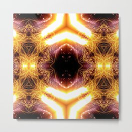 Afterimage of the light 02 Metal Print