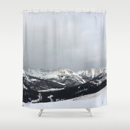 Keystone Mountains - Colorado Shower Curtain