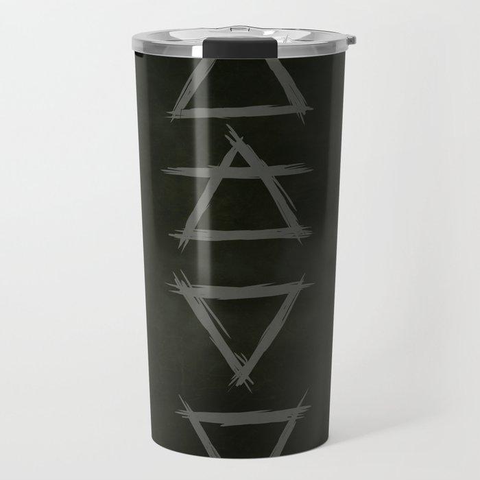 Alchemy. elements. witchcraft. nature. Travel Mug