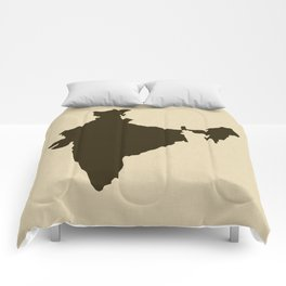 Chocolate Spice Moods India Comforters