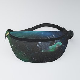 Space Hummingbird Fanny Pack