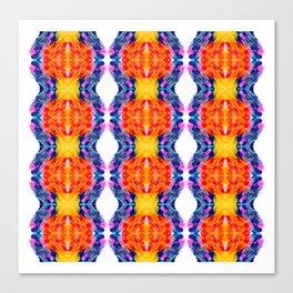 kaleidoscope art smears Canvas Print