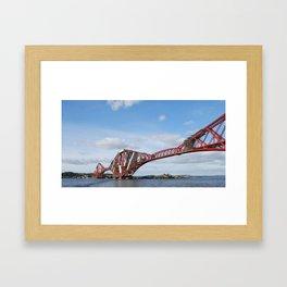 Forth Rail Bridge  - Fife, Scotland Framed Art Print