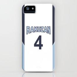 Akashi's Jersey iPhone Case