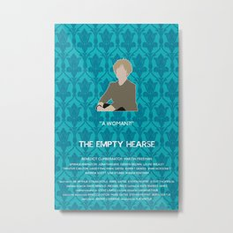 The Empty Hearse - Mrs. Hudson Metal Print