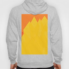 Colorful Yellow Abstract Shapes Hoody