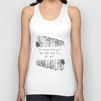 baltimore Tank Tops featuring Baltimore by Lasafro