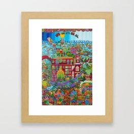 Pawook Framed Art Print