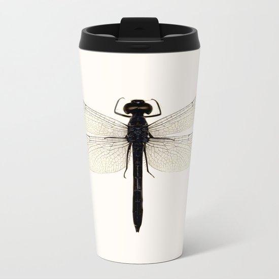 dragonfly #5 Metal Travel Mug