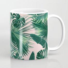 Jungle Leaves Siesta #1 #tropical #decor #art #society6 Coffee Mug