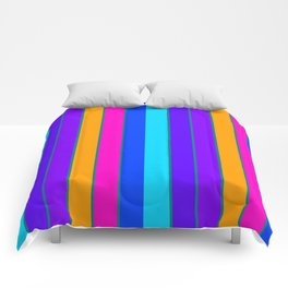 sTRIPES Colorful  Comforters