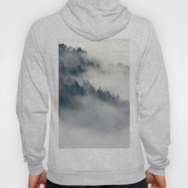 Mountain Fog and Forest Photo Hoody