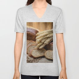 Breads Unisex V-Neck
