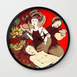 jealousy / Mother & Daughter in law Wall Clock