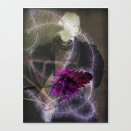The Truth is a Flower Canvas Print