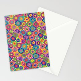 Millefiori-Crayon Colors Stationery Cards