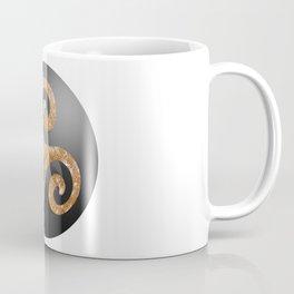 3d metallic glitter triskel sphere Coffee Mug