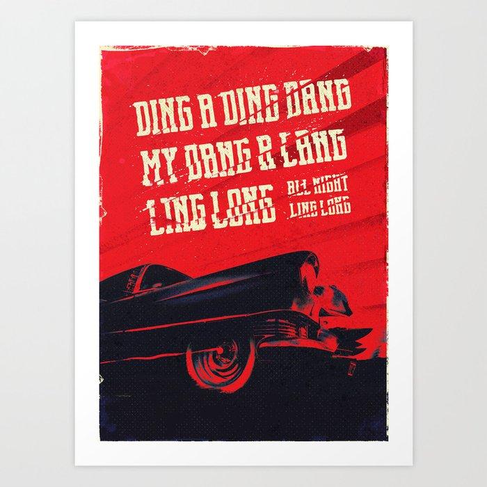 My DANG! Art Print
