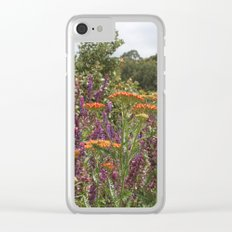 Botanical Garden Colour Clear iPhone Case