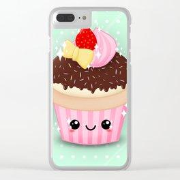 Cutie Cake Clear iPhone Case