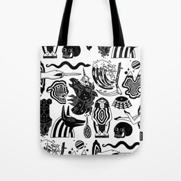 Interdimensional Portals Tote Bag