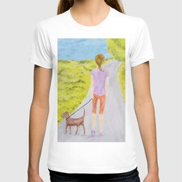 Walking Norman T-shirt