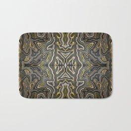 Abstract #1 - VII - Yellow Pop Bath Mat