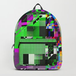 2 pyramids Backpack