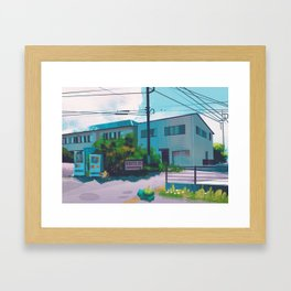 Cerulean City - Kanto in real life Framed Art Print