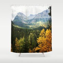 FALL MOUNTAIN WHISPER Shower Curtain