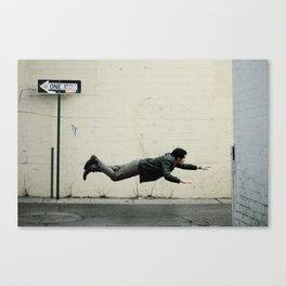 Sometimes, it's good to be different. Canvas Print