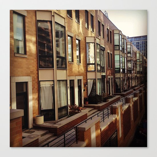 Chicago Housing Canvas Print