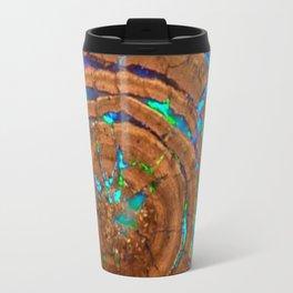 Sea of blue opal Travel Mug