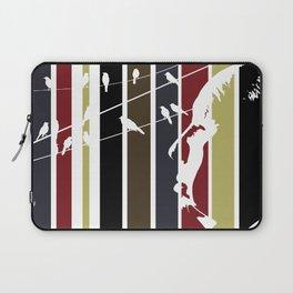 Alfred Hitchcock Retro Homage Laptop Sleeve