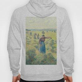 """Camille Pissarro """"La Récolte des Foins, Éragny""""(""""The Hay Harvest"""") Hoody"""