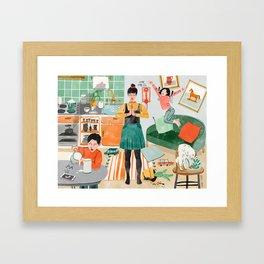 Zen Home Framed Art Print